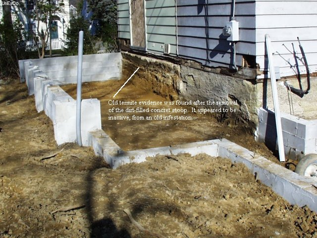 Pre Treatment And Termite Proofing United Exterminating Company Cherry Hill Nj